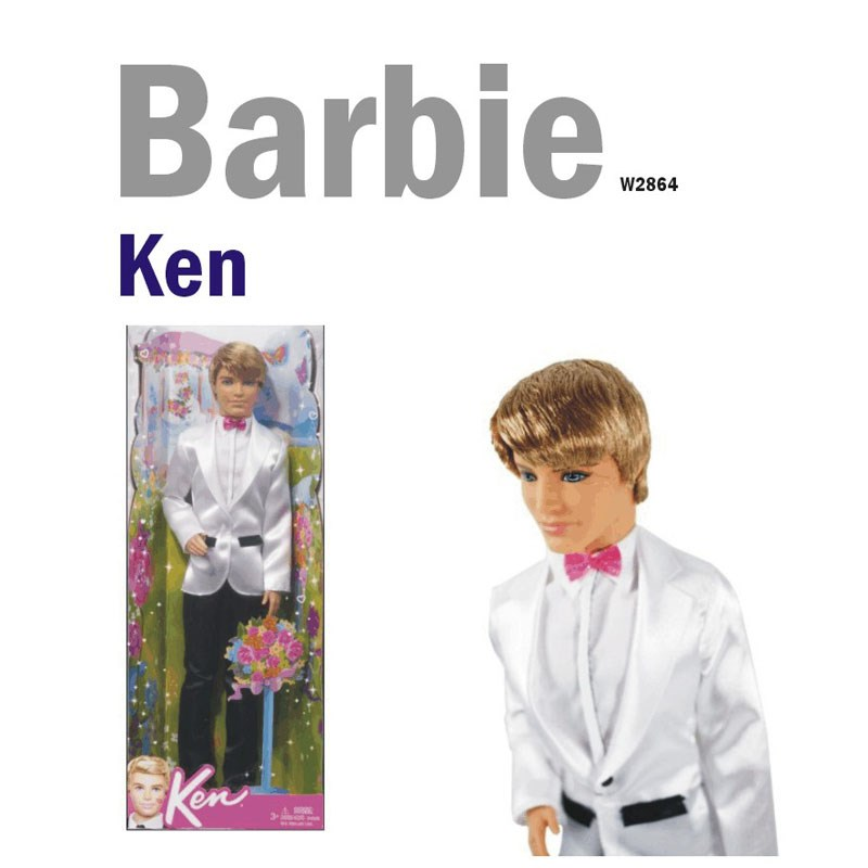 Chu re lich lam Barbie W2864