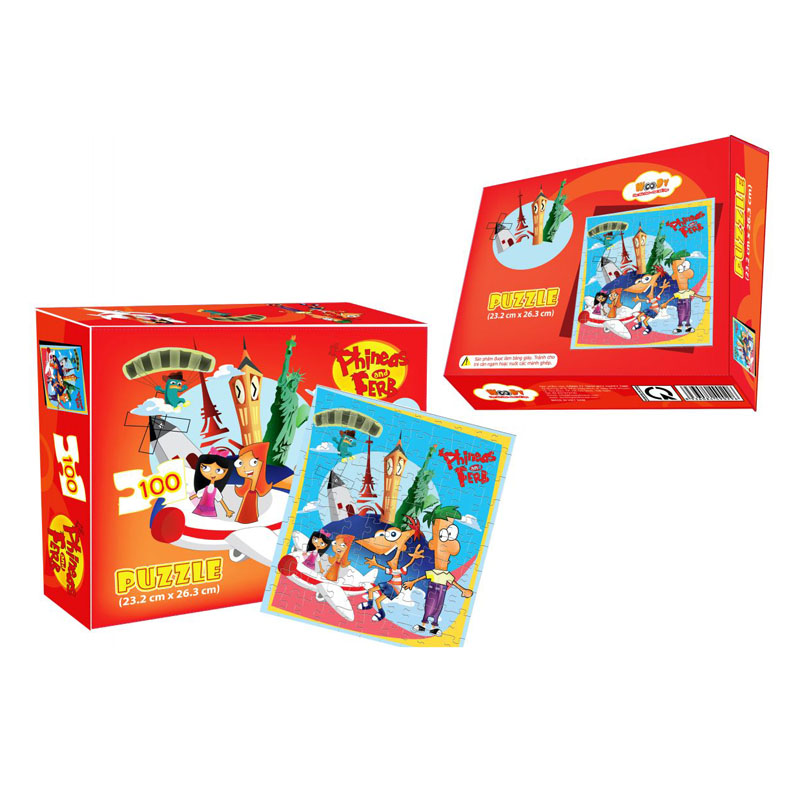 Xếp hình Puzzle Phineas and Ferb WD296