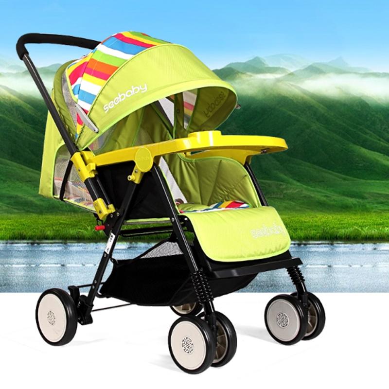 Xe đẩy Seebaby T11A mẫu xe mới (nhiều màu)