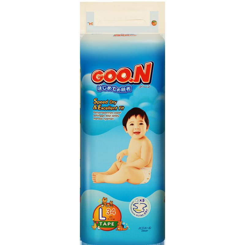 Tã - bỉm dán Goon Slim L34 (9-14kg)