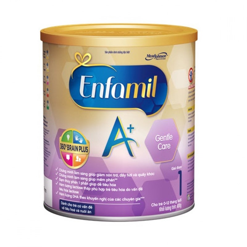 Sữa Enfamil A+ Gentle care Brain Plus