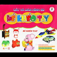Cat va dan hinh 3D Be kheo tay - Be kheo tay