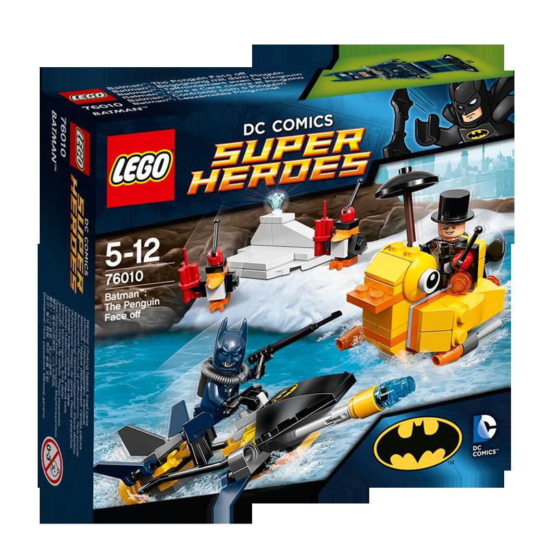 Đồ chơi LEGO 76010 Batman - Trận chiến với Chim cánh cụt