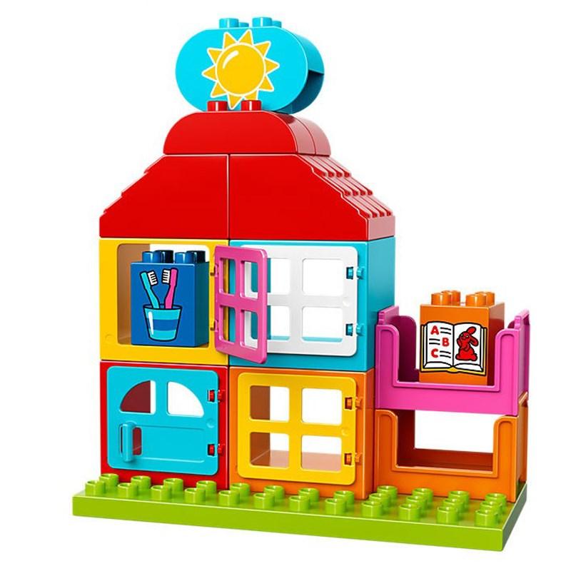 Do choi Lego duplo 10586 - Nha choi dau tien
