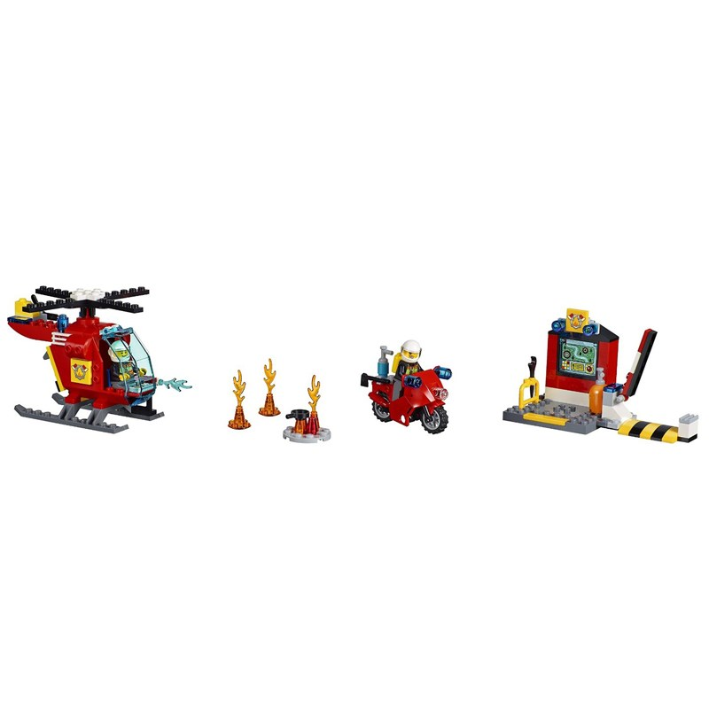 Do choi Lego Juniors 10685 - Vali cuu hoa