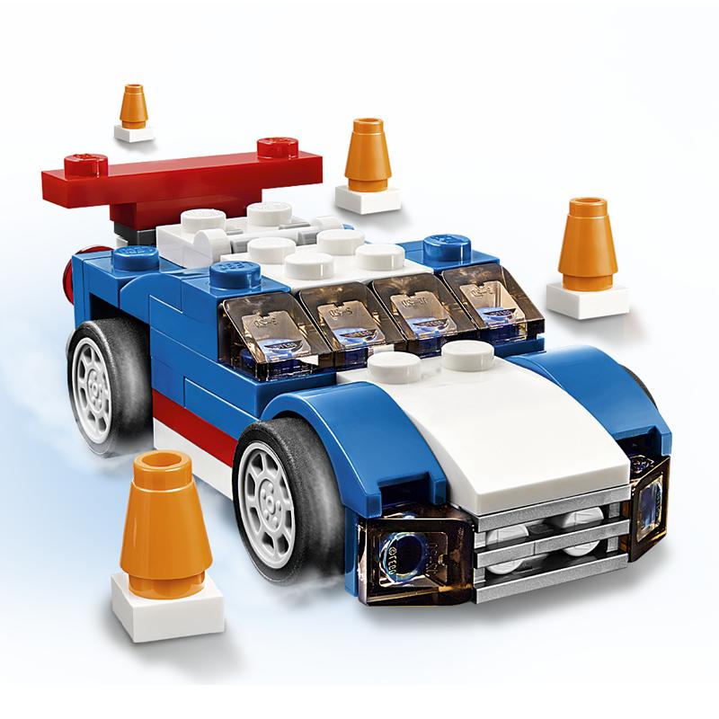 Do choi Lego Creator 31027 - Xe dua xanh