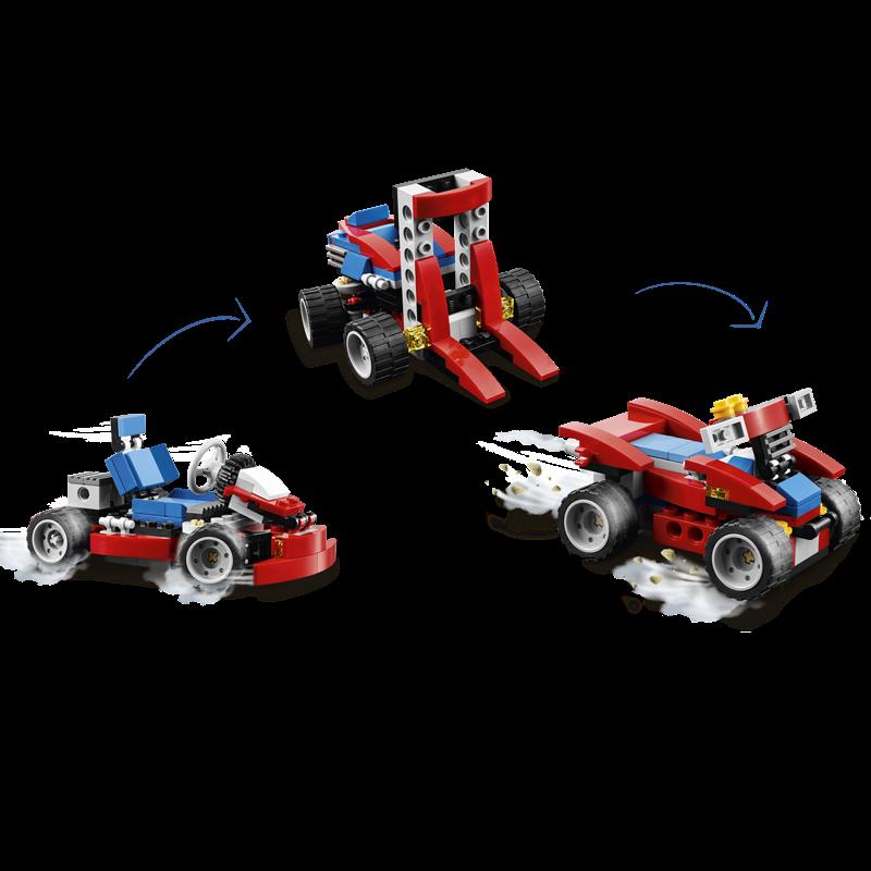 Do choi lego creator 31030 - Xe dua mini do