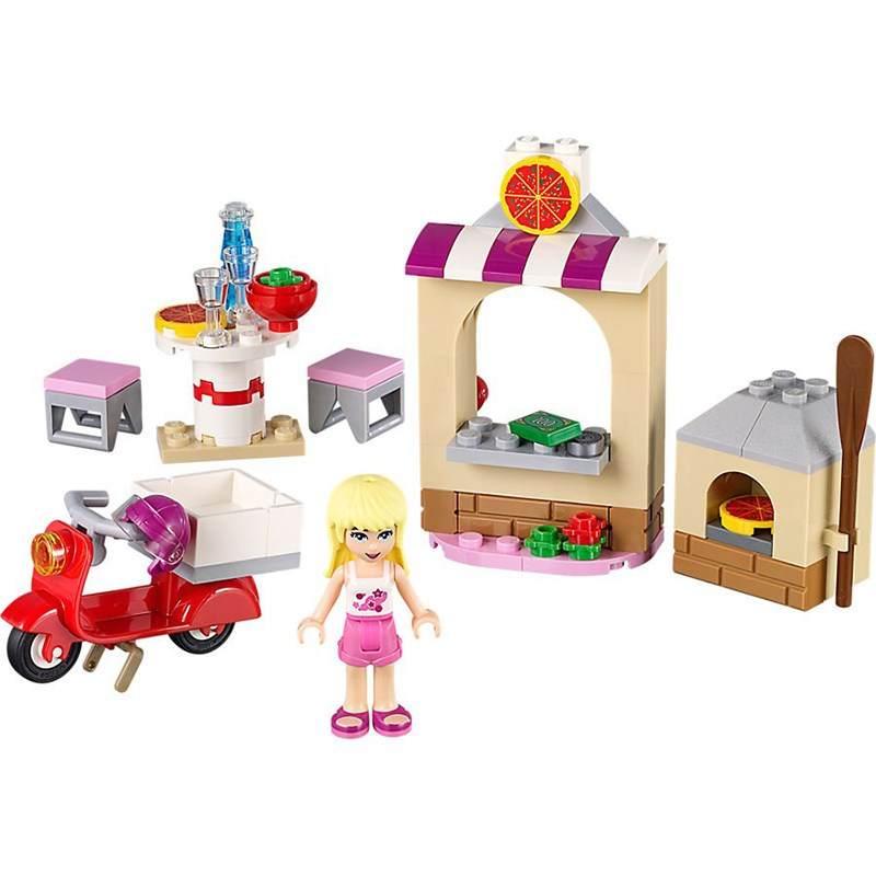 Do choi Lego 41092 -  Cua hang banh pizza cua Stephanie