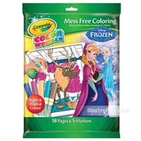 Bo but giay to mau Color Wonder hinh Frozen