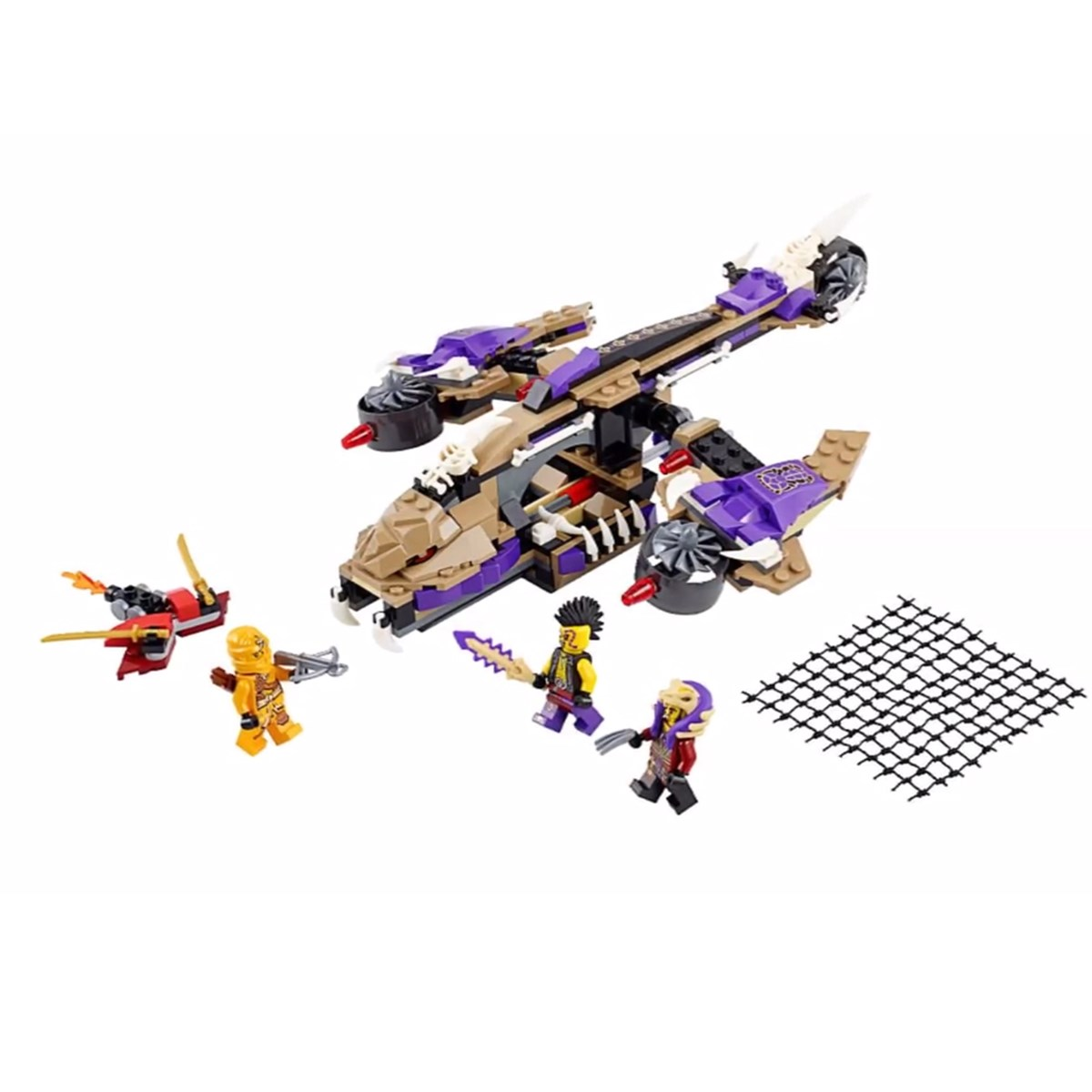 LEGO Ninjago - May bay doc xa 70746