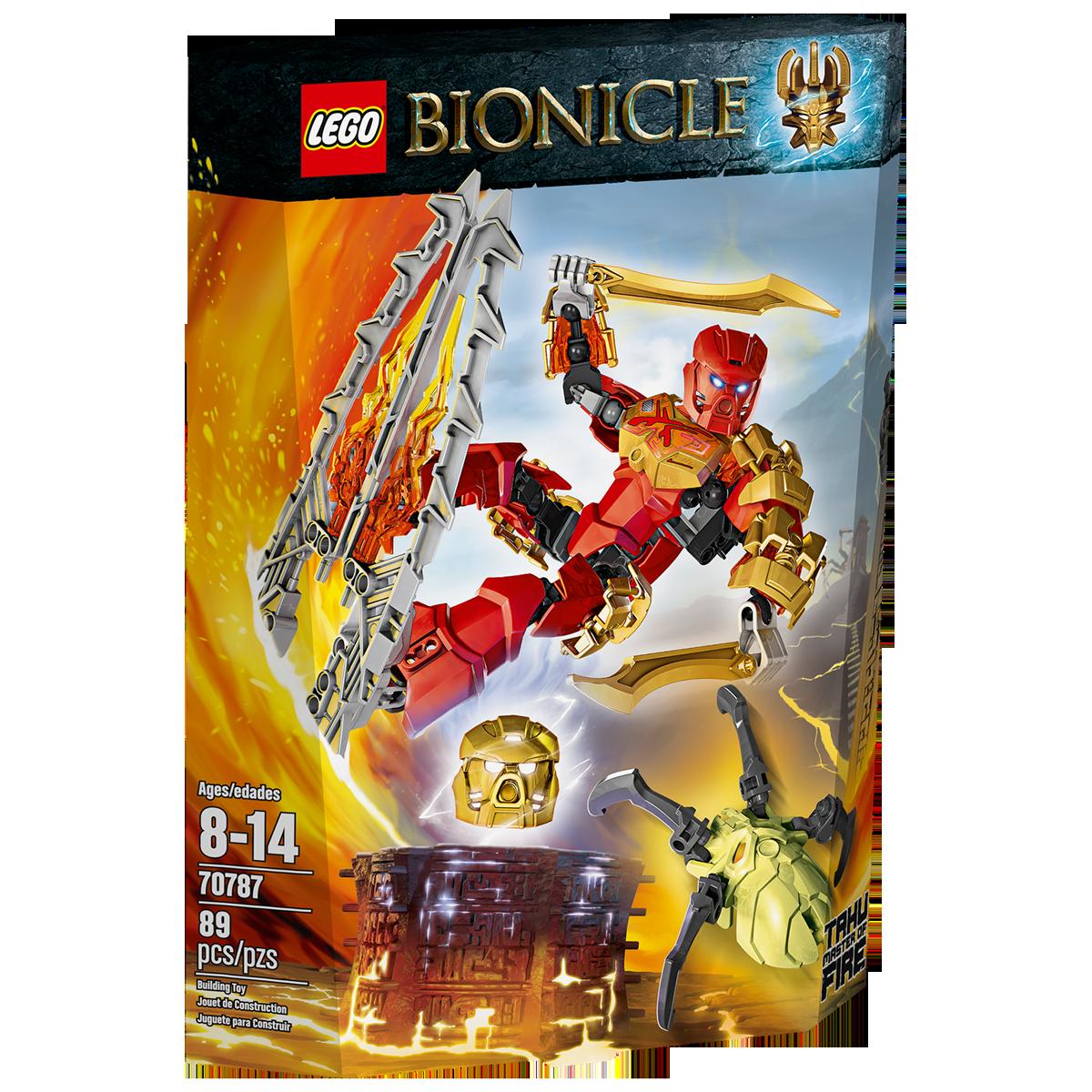 Lego Bionicle 70787 - Thần lửa Tahu