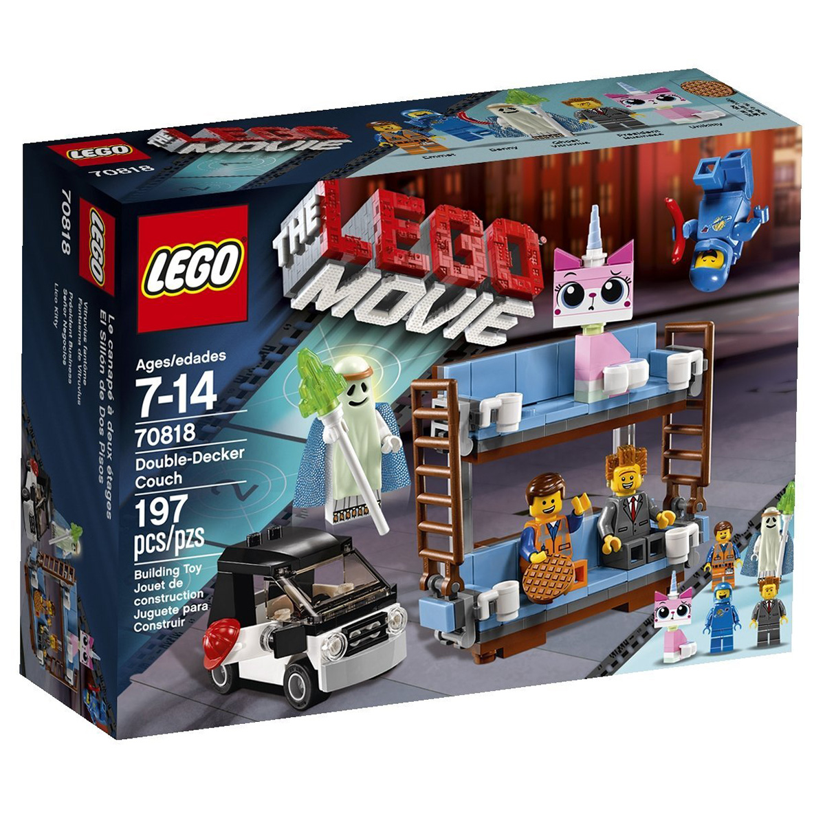 Lego Movie 70818 – Giường hai tầng