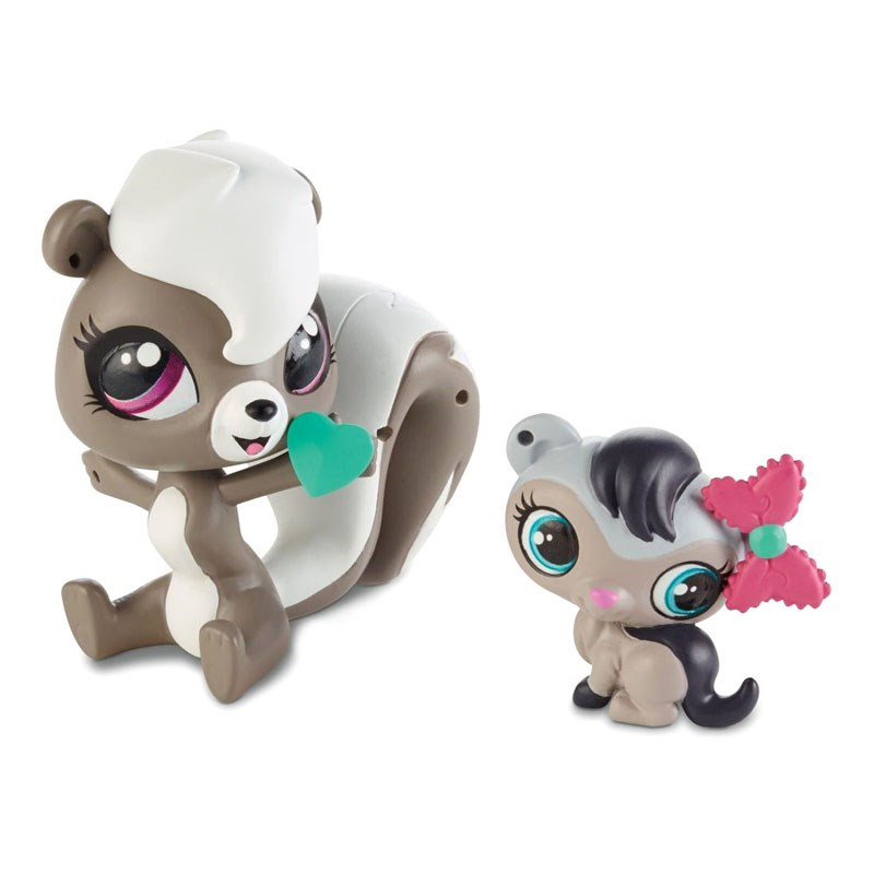 Do choi Littlest Pet Shop A8425/A7313 - chon Pepper va chuot Dawn