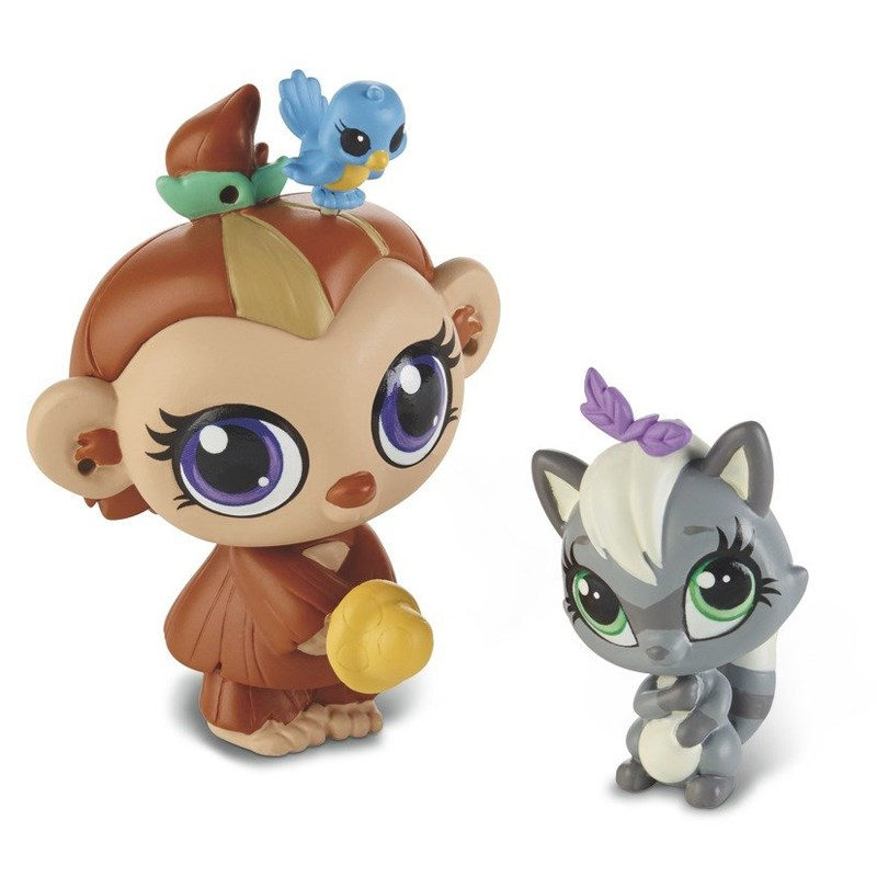 Do choi Littlest Pet Shop A8424/A7313 - Nam Rom va gau Meo Sneakers