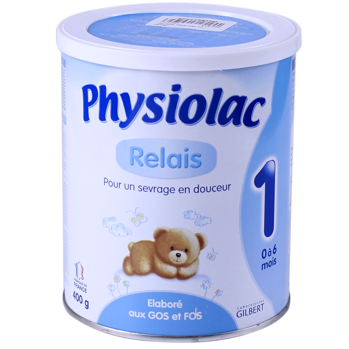 Sua Physiolac so 1 - 400g (0-6 thang)