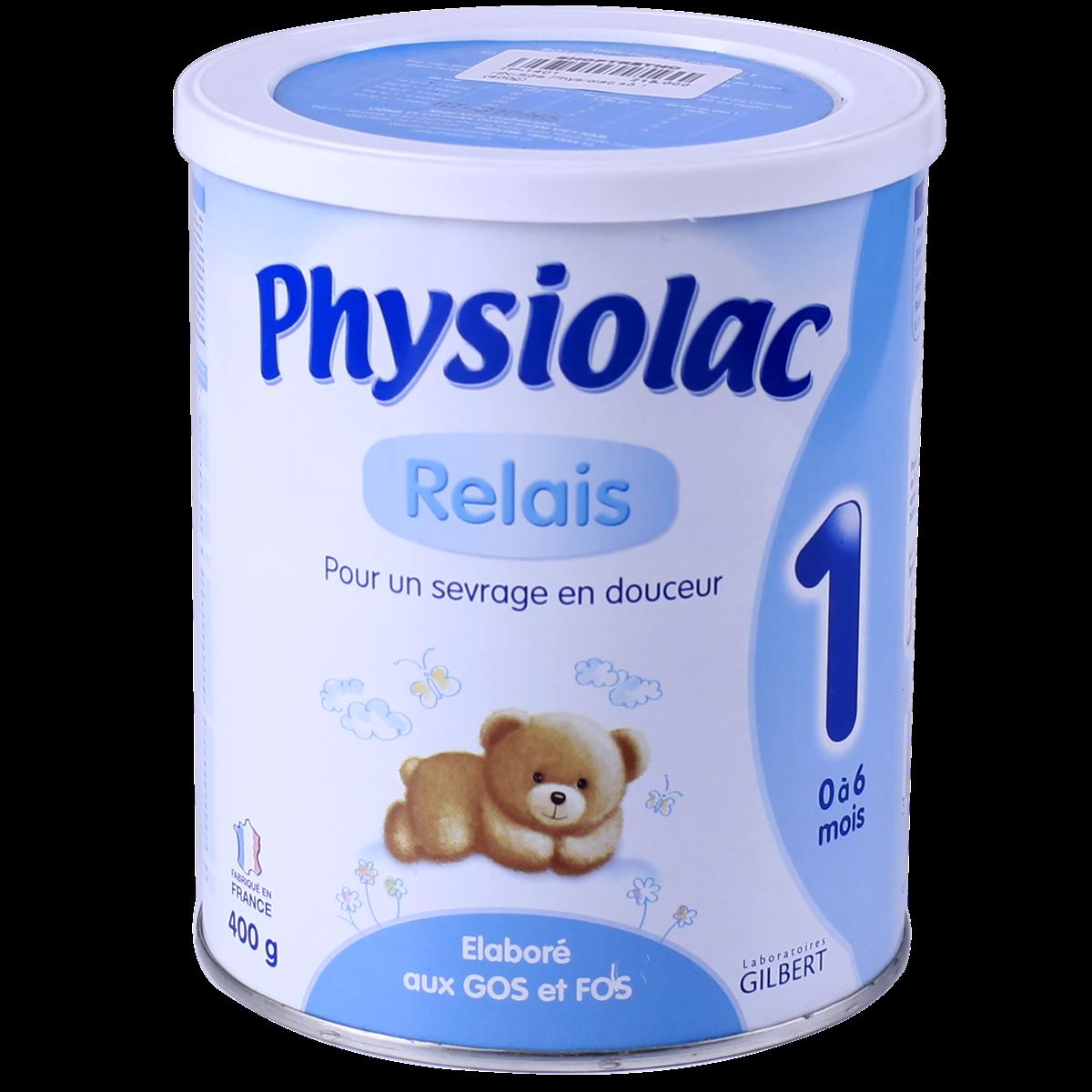 Sữa Physiolac số 1 - 400g (0-6 tháng)