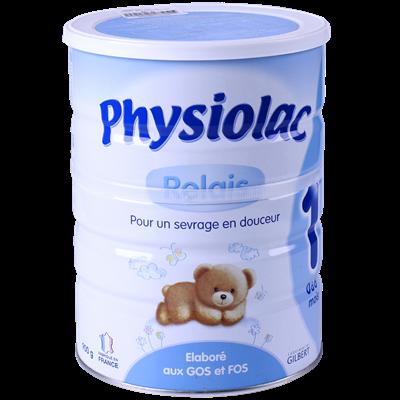 Sữa Physiolac số 1 - 900g (0-6 tháng)