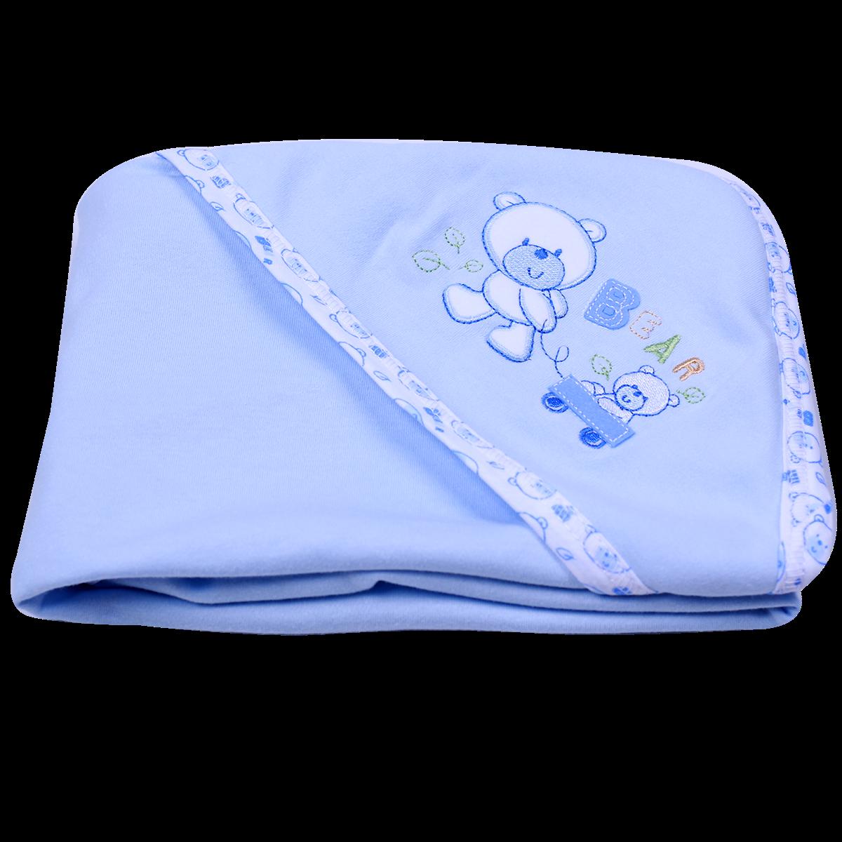 Chăn mũ Comfort cotton