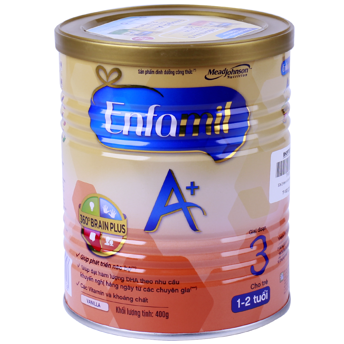 Sữa Enfamil A+3 Brain plus( 400g)