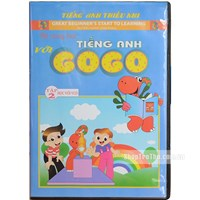 Be cung hoc tieng Anh voi Gogo tap 2 (1VCD+ 1 sach di kem)
