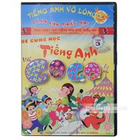 Be cung hoc tieng Anh voi Gogo tap 3 (1VCD+ 1 sach di kem)