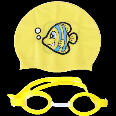 Bộ mũ và kính bơi 26026
