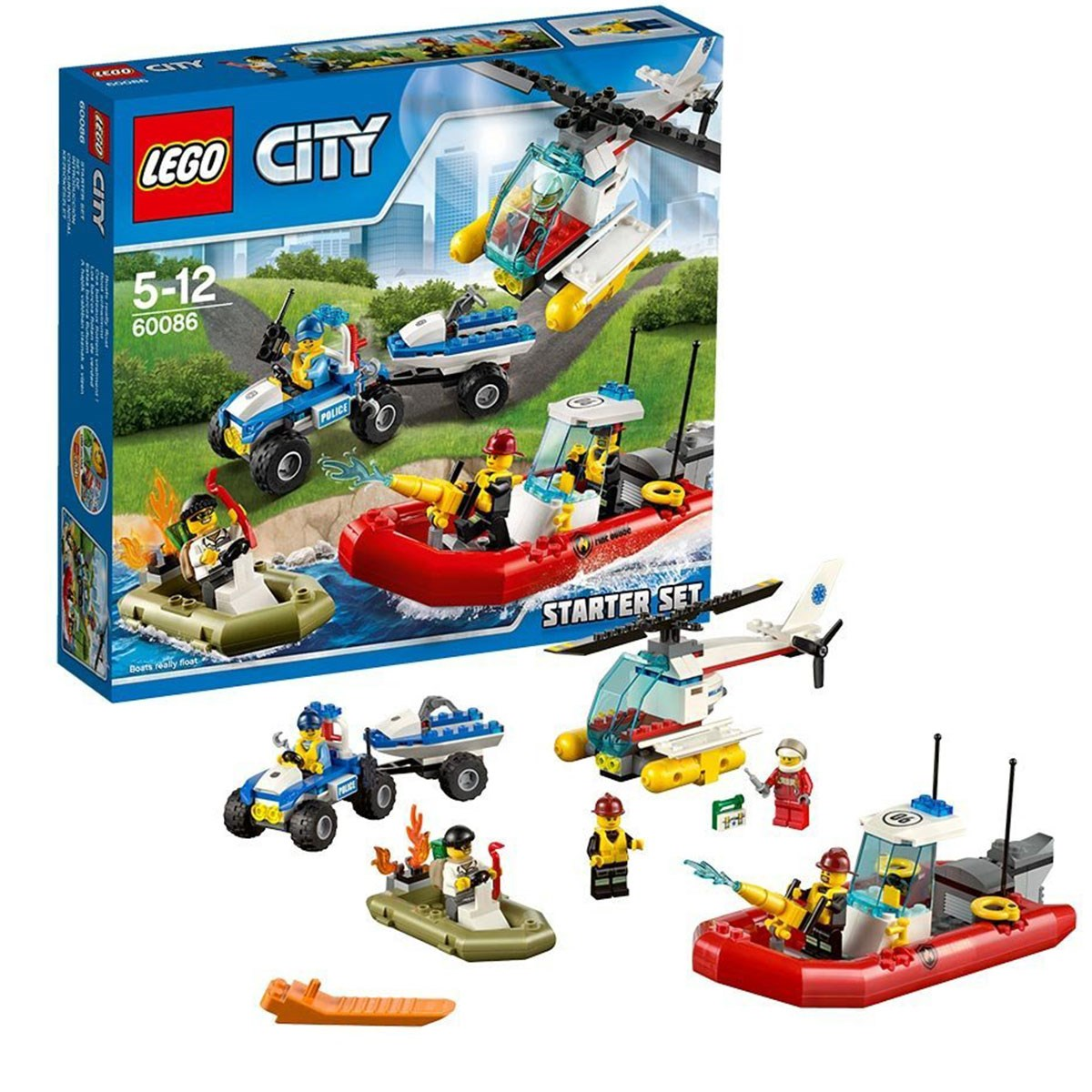 Do choi LEGO City - Bo khoi dau 60086