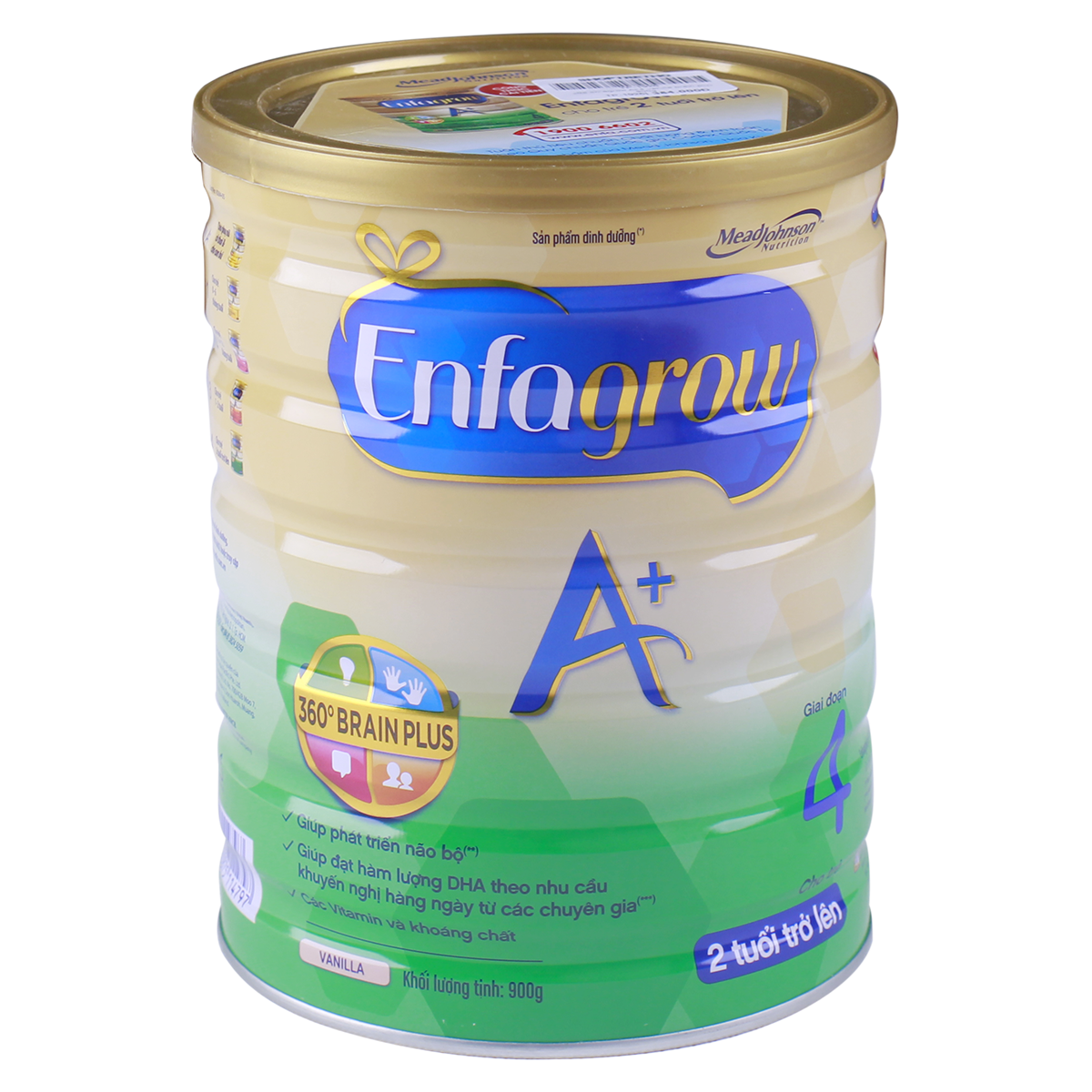 Sữa Enfagrow A+ 4 vanilla 360 Brain Plus (900g)