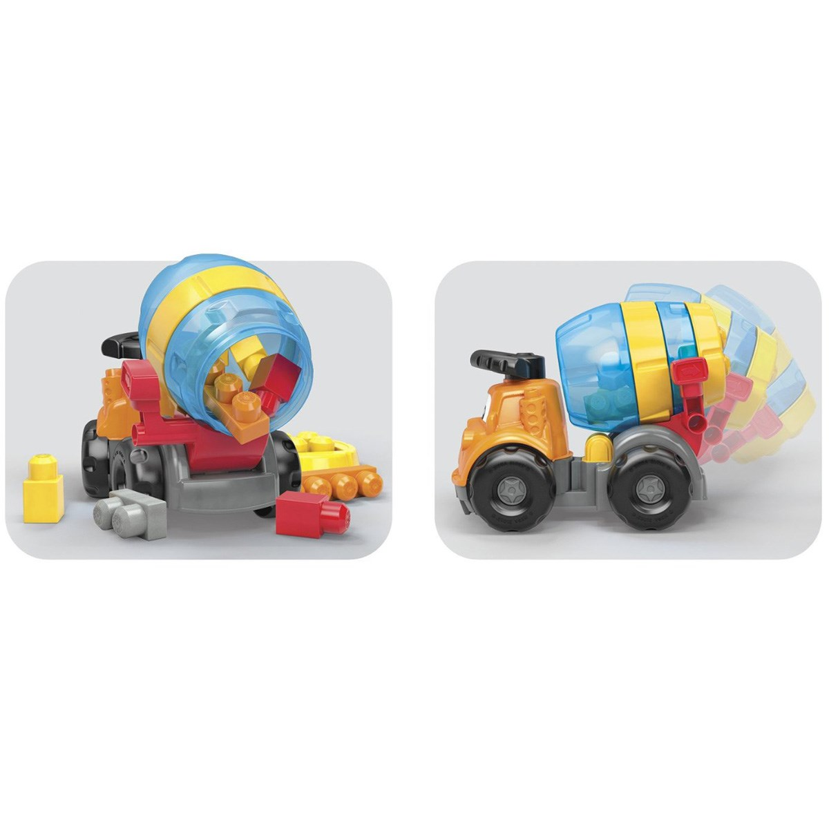Do choi xe tron Mike Mega Bloks CND67