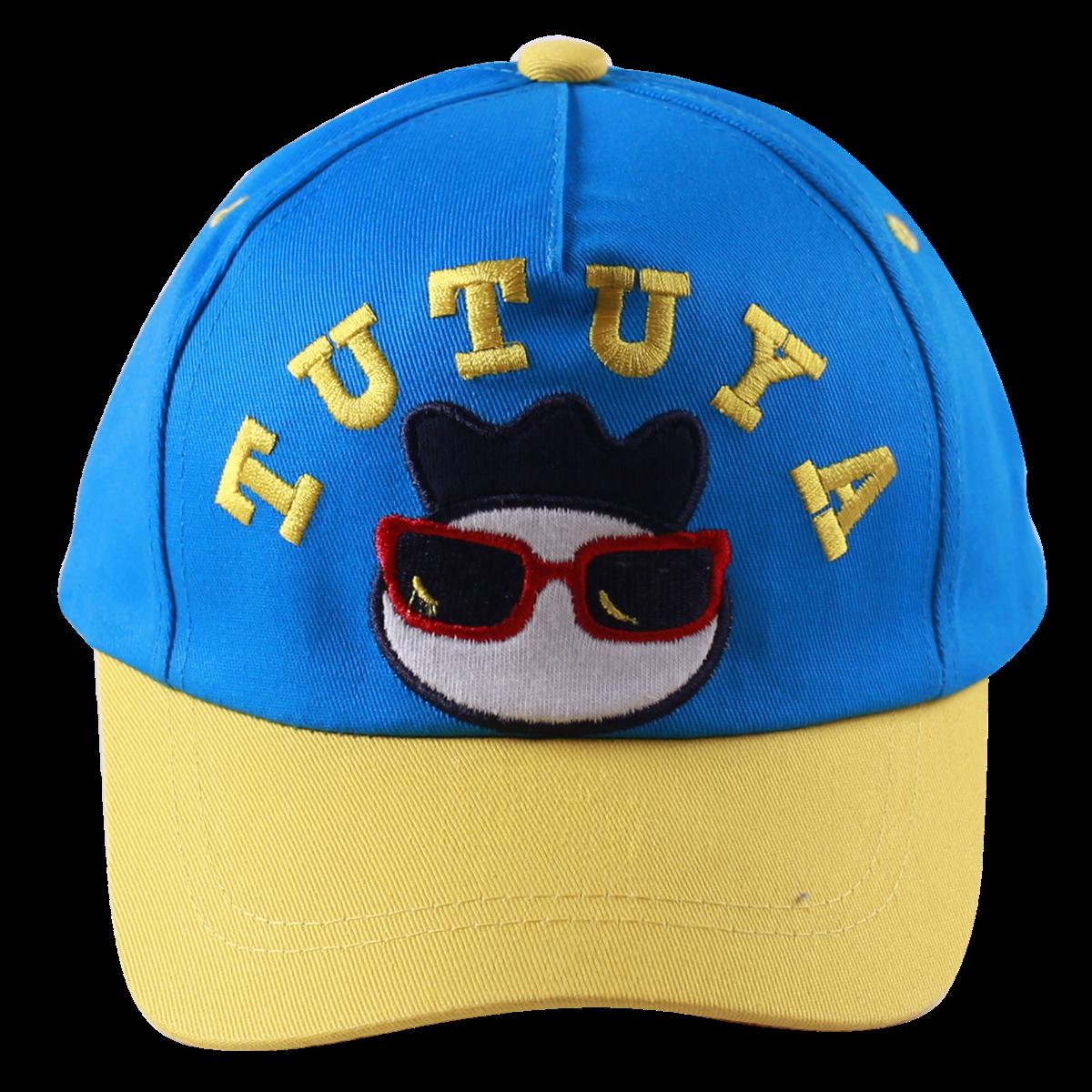 Mũ lưỡi trai Tutuya màu xanh lưỡi vàng