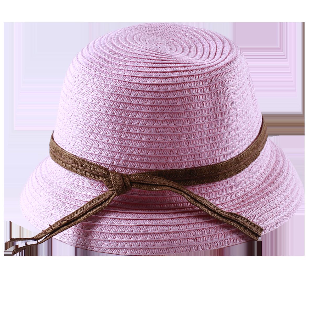 Mũ rộng vành Hàn quốc màu hồng