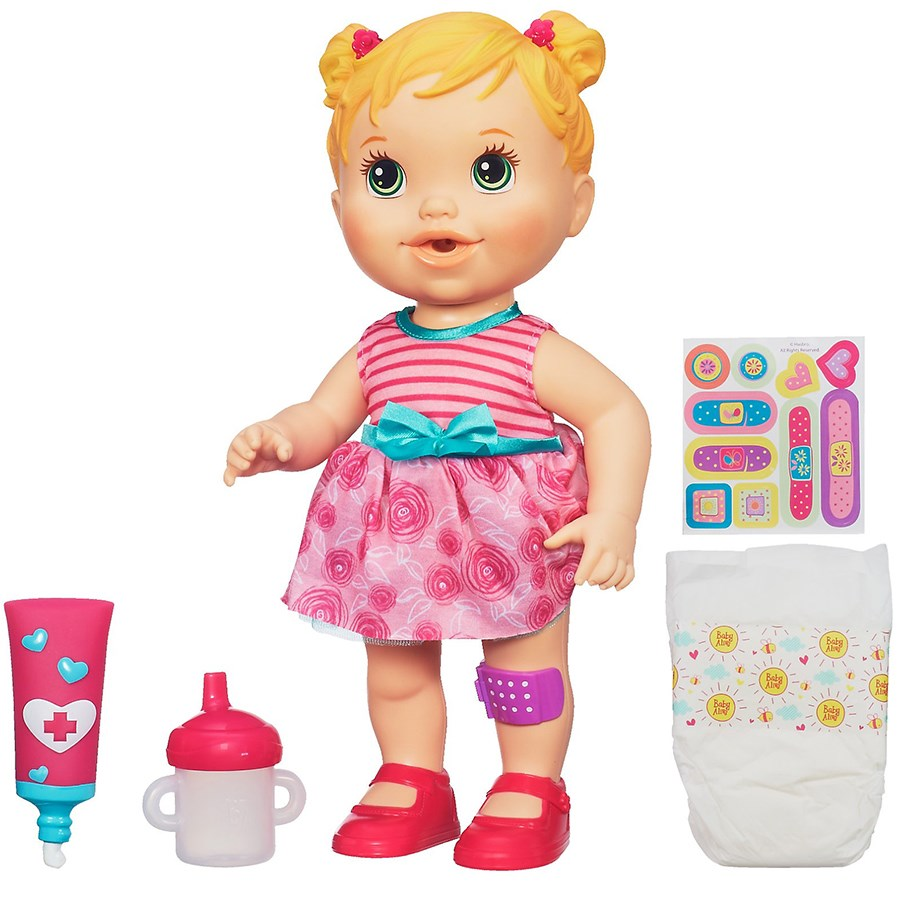 Bup be baby Alive cham soc be cung - A5390