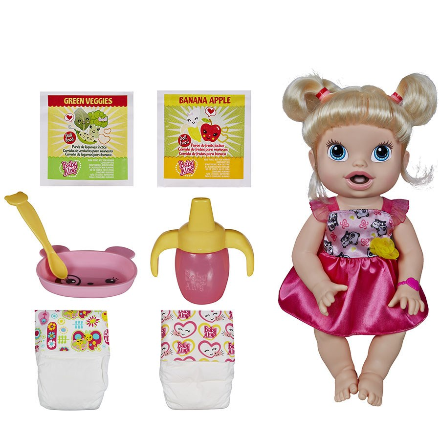 Bup be Baby Alive be yeu tap an - A70221