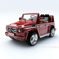O to dien tre em mau xe Mercedes Benz - G55 (2 dong co)