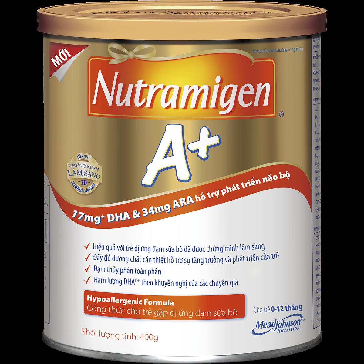 Sữa Nutramigen 400g dành cho trẻ từ 0 - 12 tháng