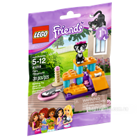 LEGO Friends 41018 Xep Hinh San Choi Cho Meo Cung