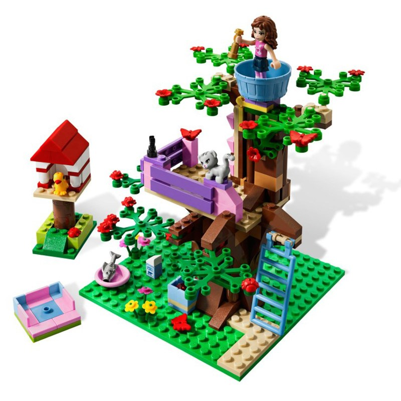 LEGO 3065 - xep hinh Friends Olivia's Tree House