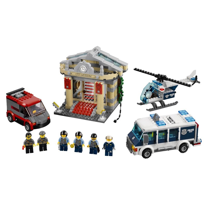 Do choi  LEGO City 60008 xep hinh Police Museum Break-in