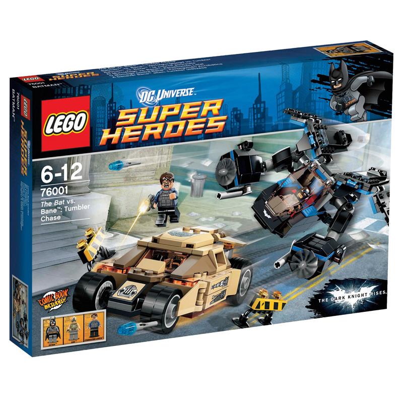 Đồ chơi LEGO 76001 Super Heroes The Bat vs Bane