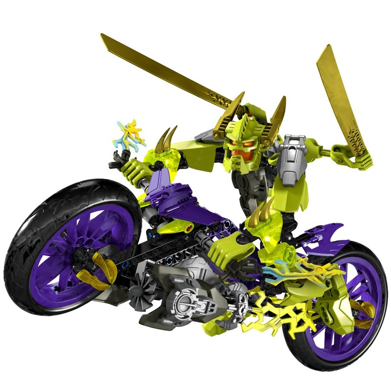 LEGO 6231 Hero Factory - Bo xep hinh anh hung Speeda Demon