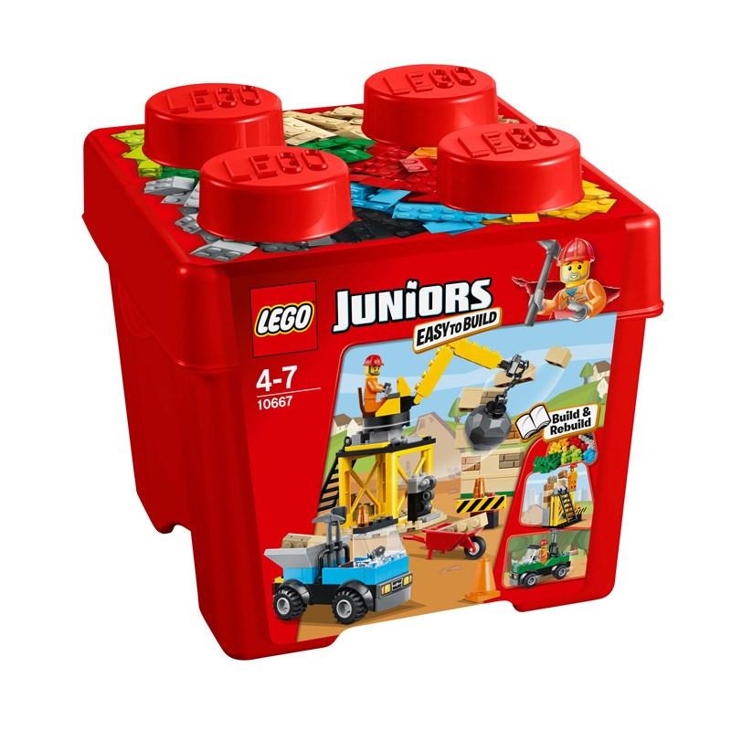 Do choi Lego Juniors 10667 - Cong trinh xay dung