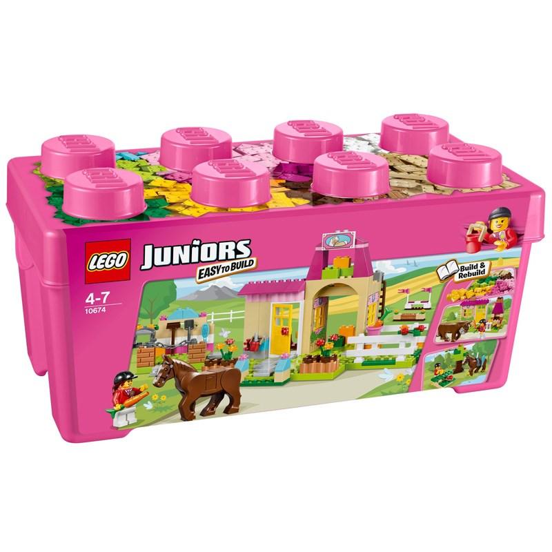 Do choi Lego Juniors 10674 - Trang trai ngua cua Pony