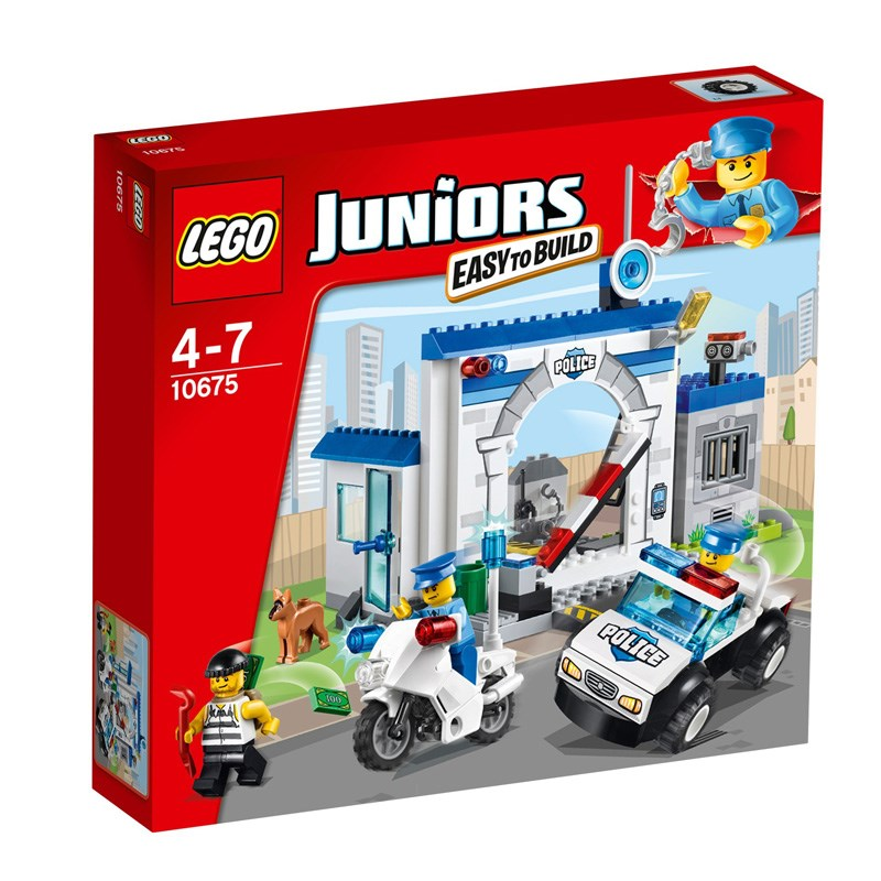 Do choi Lego Juniors 10675 - Canh sat bat ke trom