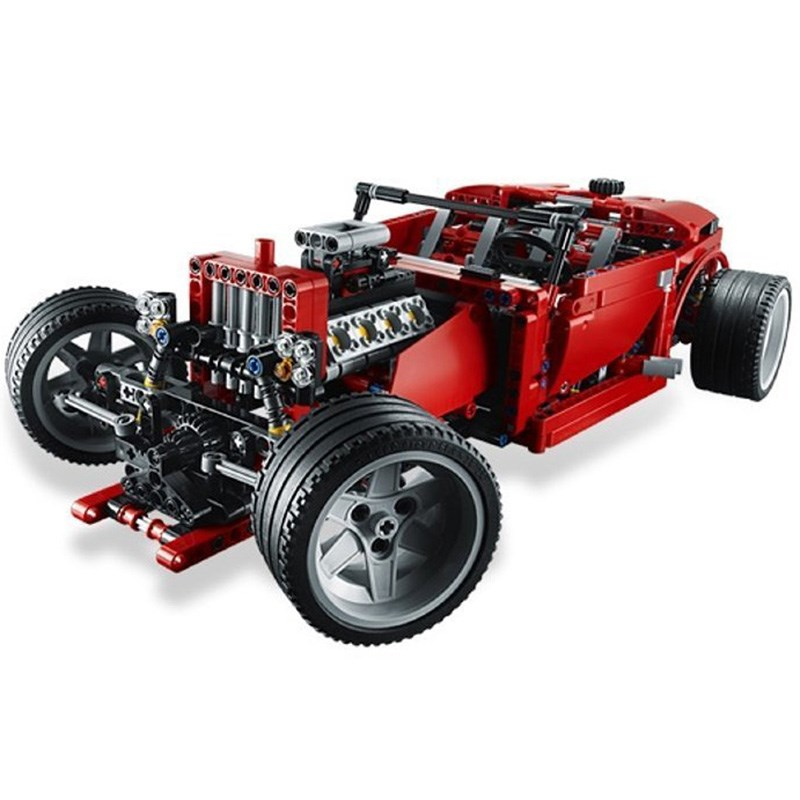 Do choi lego Technic 8070 - Sieu Xe The Thao