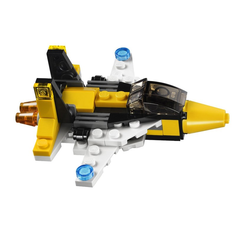 LEGO 31001 xep hinh May Bay Mini-Mini Skyflyers Set