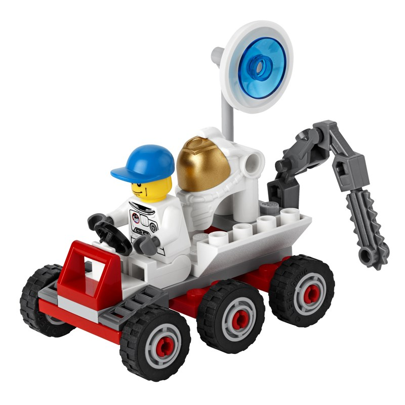 LEGO 3365 City - Xep hinh xe tham hiem mat trang