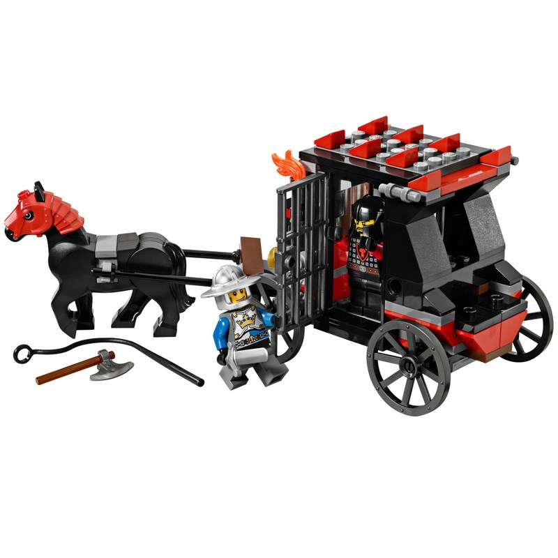 LEGO 70401 Castle - Xep hinh cuoc chien cuop vang