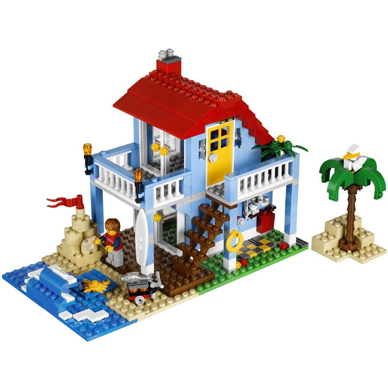 Do choi LEGO 7346 - Xep hinh Seaside House