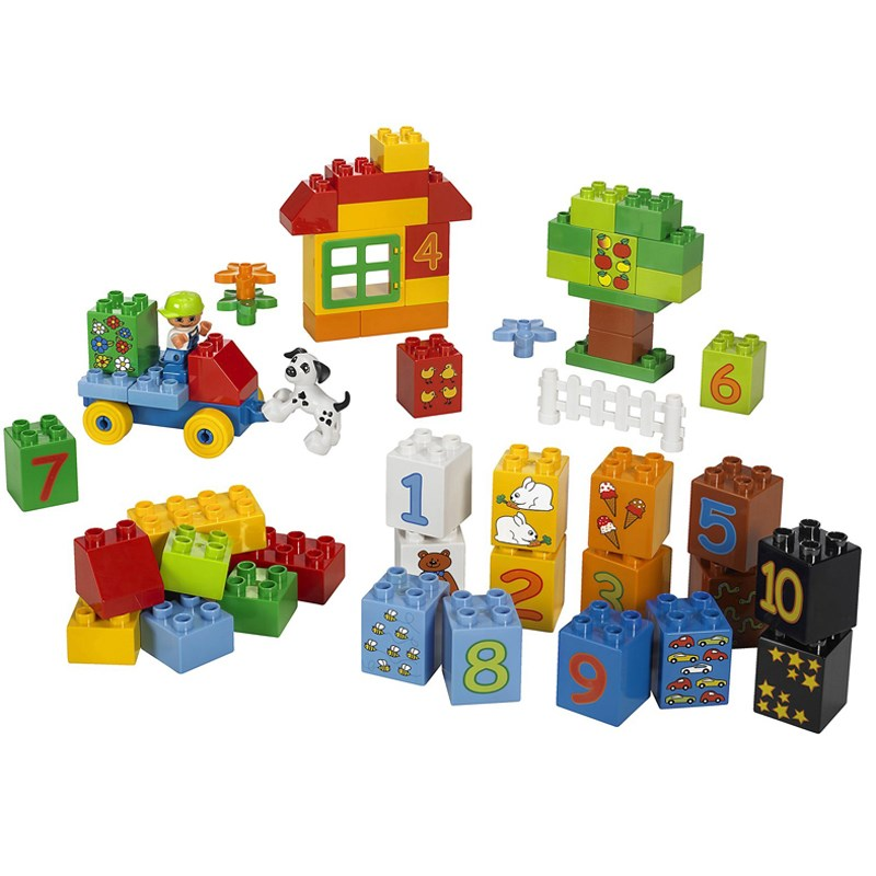 LEGO 5497 bo hoc dem so ( LEGO DUPLO Play with Numbers)