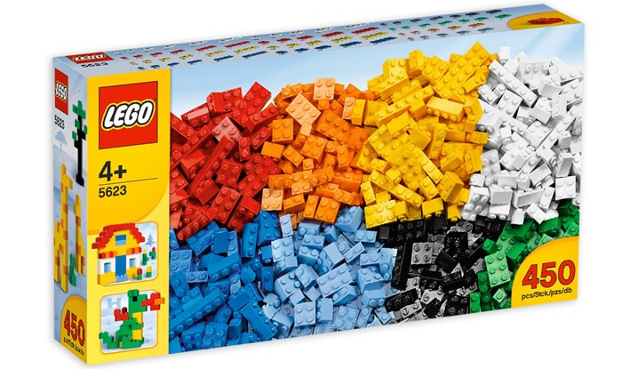 LEGO 5623 Bricks and More - Thung gach hop lon